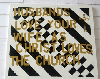 Christian Wall Decor marriage wall art | etsy