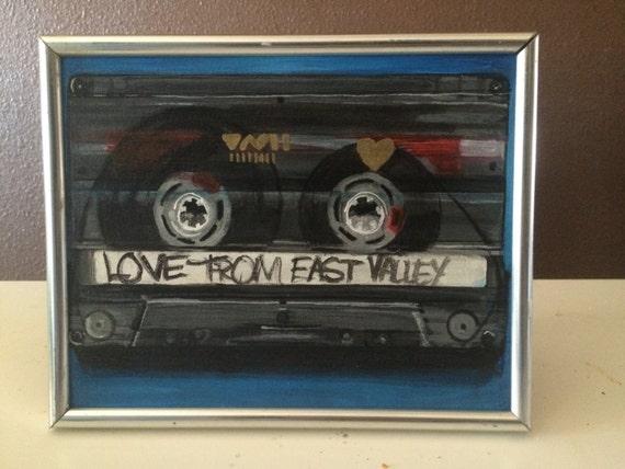 Cassette tape Mixtape old school tech fanart
