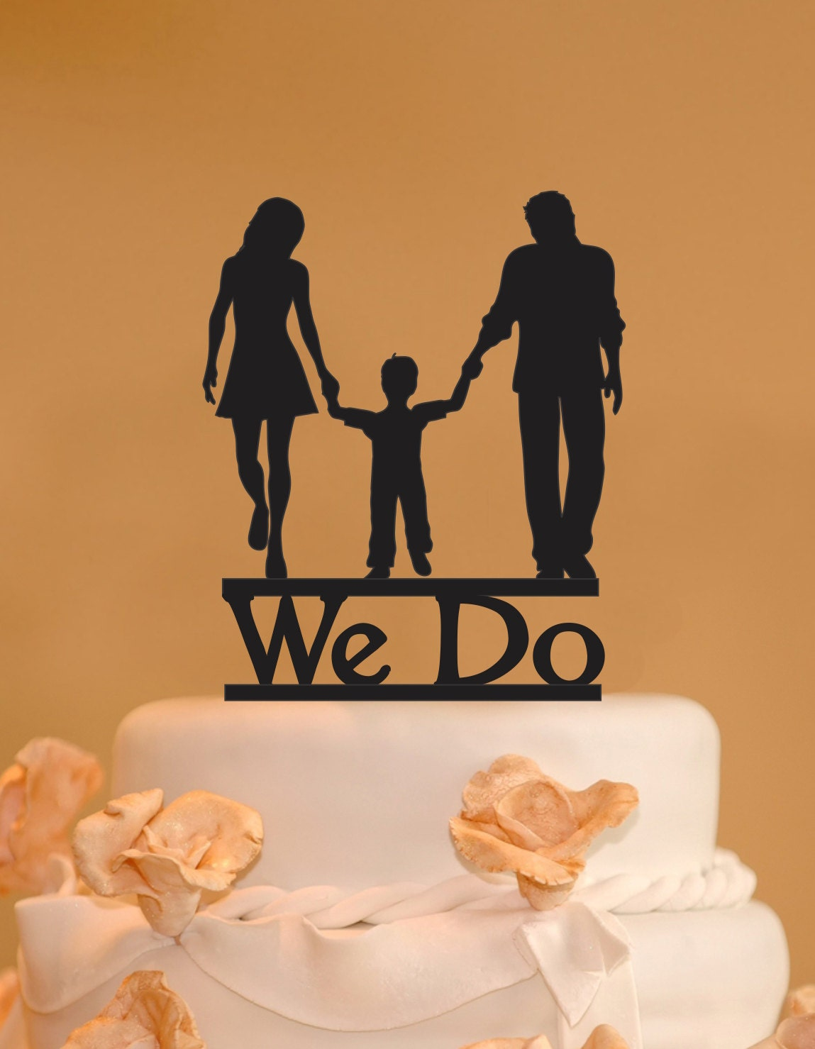 wedding cake topper with child and child wedding cake topper silhouette cake 26657