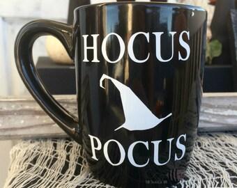 HOCUS POCUS 12 oz Black Mug