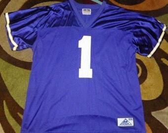 ... Vtg Warren Moon Minnesota Vikings NFL APEX Jersey Sz Mens 2XL ... c3a38818b