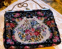 Petit Point Tapestry Purse
