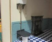 Victorian Toilet Kit     unpainted
