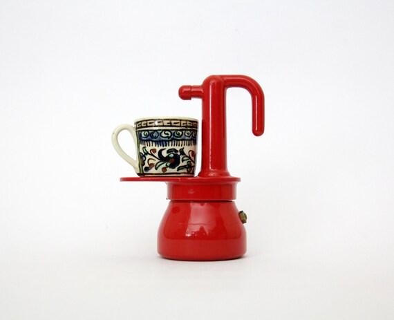 Vintage Italian Coffee Maker // IRMEL Maggiolina Stove Top