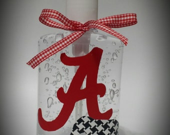 Germ X Sanitizer Alabama Auburn Personalized Employees Teachers Student Gifts Co-Workers Birthday Christmas Valentines Team Spirit Day Care