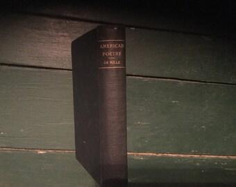VINTAGE American Poetry Book