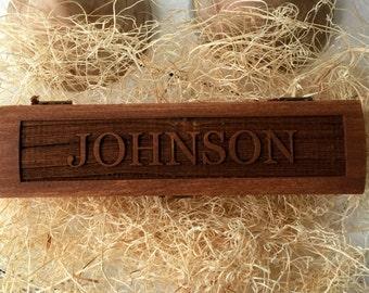 Groomsmen Box, Best Man Box, Keepsake Box, Rustic Gift, Wooden Box, Groomsmen Gift
