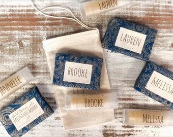 10 Soap Favors, Wedding Favors, Bridal Shower, Baby Shower, Birthday Party, Custom Favors, Vegan Favors