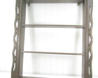 Shelf,Vintage Wall Decor, Wall Hanging,country decor, rustic decor, collectible Display Shelf, Curio Shelf