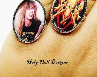 Megadeth-Dave Mustaine Ring Bundle