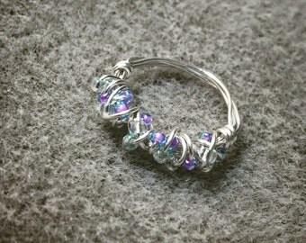 Pretty pinky ring