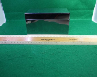 Vintage Ford Motor Co Martin Instruments Composite Dual Scale Metric / Inches Drafting Ruler - 1/2 mm - Full  50