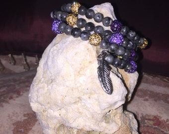 Stackable~Memory Wire~Bracelets~Fashionable Jewelry~