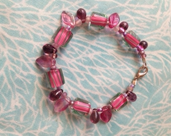 David Christensen glass bead bracelet