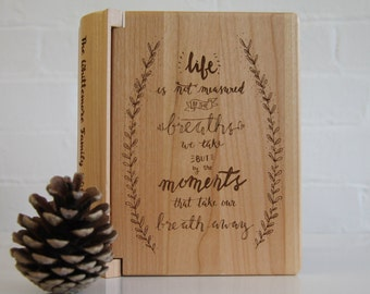 Hand Written Quote Photo Album