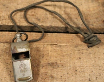 1960s Boy Scouts Camp Counselor Whistle