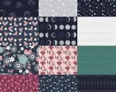 Fat Quarter Bundle (12) MOON GARDEN by Rae Ritchie for Dear Stella
