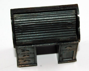 Durham Industries Miniature Die Cast Roll Top Desk