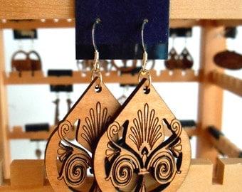 Victorian Tear Drop Earrings