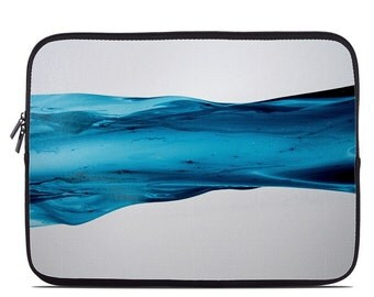 Laptop Sleeve Bag Case - River by Creative by Nature - Neoprene Padded - Fits MacBooks + More