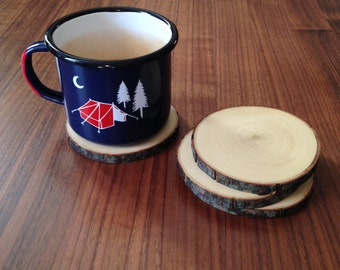 Rustic Coasters Set of 4