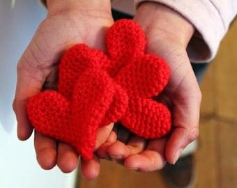 Spread the love, crochet heart