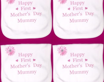 Happy mothers or father's day 1x bib
