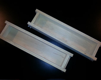 2 ADJUSTABLE Soap Molds Wooden Loaf Mold Cold Process 2 New 5-1 Lb  1-877-246-6868
