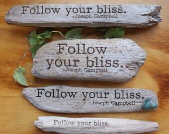 Joseph Campbell - Follow your bliss