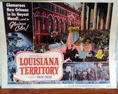 Lobby Card from the 1953 film Louisiana Territory