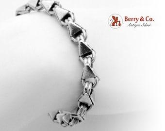 SaLe! sALe! Modern Geometric Bracelet Sterling Silver