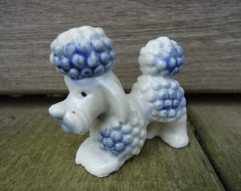 Poodle Figurine Made in Japan