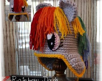 "Bonnet ""Rainbow Dash"" (on order)"