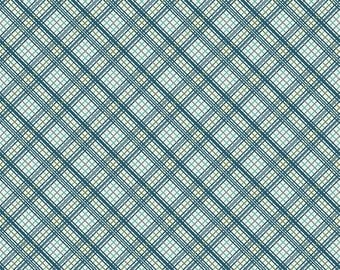 Blue Plaid from the Offshore Collection by Deena Rutter for Riley Blake Designs BTY by the yard