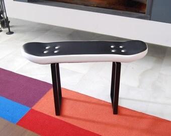 Children's step skateboard stool, pressure black