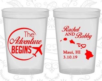 Natural Stadium Cups, Natural Cups, Natural Plastic Cups, Natural Party Cups, Natural Wedding Cups (278)
