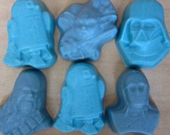 Star Wars Soap/Soap Set, handmade soap, natural soap, kids soap, natural hand made soap, cold process soap, kids gift soap, children's soap