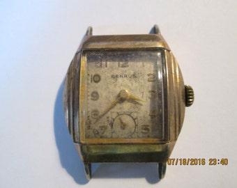 Vintage Benrus Watch, 15 Jewel Swiss Watch, Watch Collectors, Art Deco, Hand Winding Watch