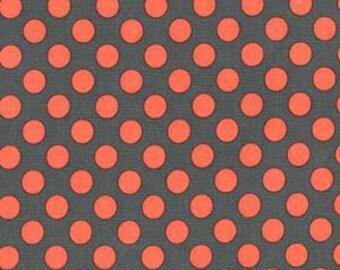 Michael Miller Fabrics - Ta Dot Coral - CX1492-CORA-D