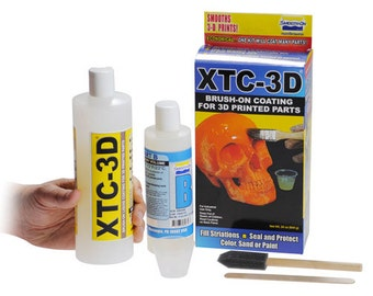 Smooth-On XTC-3D: coating for 3D prints and more - 24oz Kit