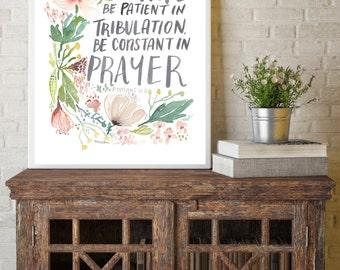 Rejoice in Hope Romans 12:12 PRINT