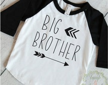 Big Brother Shirt Sibling Big Brother Gift Big Brother Little Brother Announcement Shirt Arrow Big Brother Outfit 128