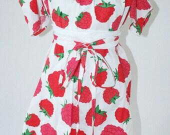"Off-shoulder-dress ""Raspberry"""