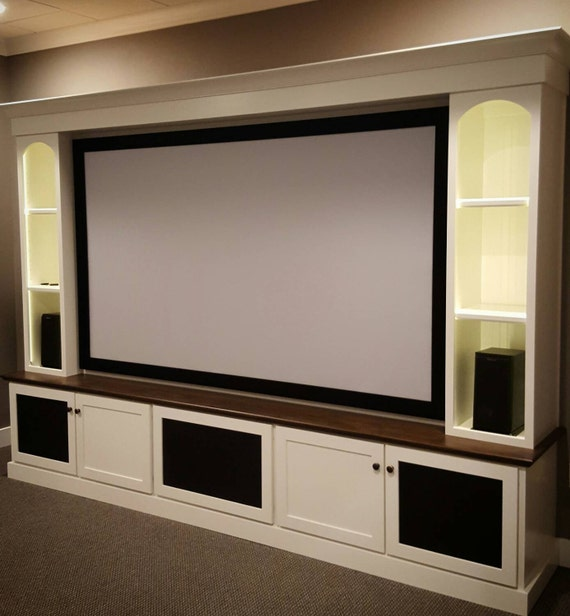 Creating A Home Theater Room: Maple Home Theater Media Center
