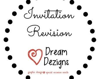 Revision | Invitation