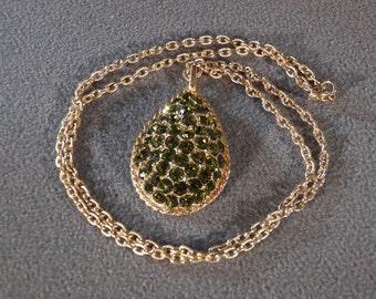 Vintage Gold Tone Jewel Necklace, An Ageless Timeless Elegant Piece!~~    **RL