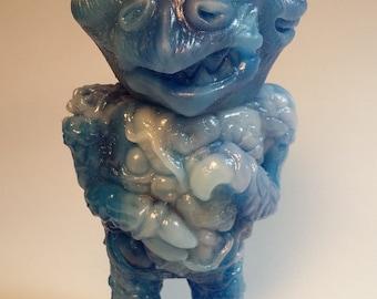 Blue Frost Koblin OOAK Resin Figure