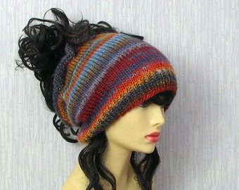 Custom Knitted Dreadlocks  hat dreadlocks beanie Winter Accessories simple dreadlock tam hippie hat