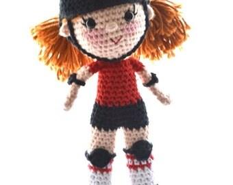 Roller Derby Skater Doll
