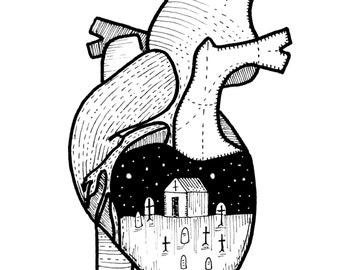 Graveyard Heart//Cemetery Drive